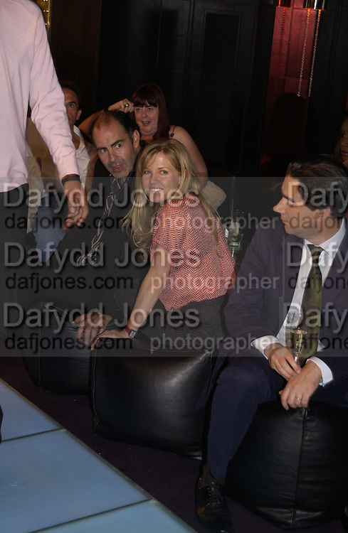 Ashley Jennings. Marks and Spencer celebrate the launch of the new men's Autograph collection. Fifty Below. 50 St. James's St. London. SW1. 7 September 2005. ONE TIME USE ONLY - DO NOT ARCHIVE  © Copyright Photograph by Dafydd Jones 66 Stockwell Park Rd. London SW9 0DA Tel 020 7733 0108 www.dafjones.com