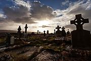 Killilagh Church and graveyard Doolin county Clare Ireland