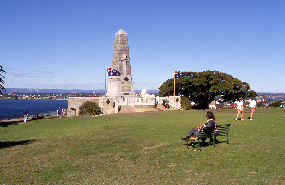 Anzac war memorial, Perth, Western Australia.