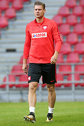 August 31, 2017 - Copenhagen, Denmark - Karol Linetty (POL), during training session before FIFA World Cup 2018 qualifier MD-1 between Denmark and Poland at Parken Stadium in Copenhagen, Denmark on 31 August 2017. (Credit Image: © Foto Olimpik/NurPhoto via ZUMA Press)