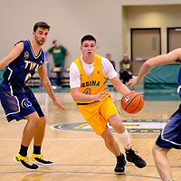 2nd year guard, Brayden Kuski (4) of the Regina Cougars in action during the Regina Cougars vs Lethbridge game on November 2 at University of Regina. Credit Matte Black Photos/©Arthur Images 2018