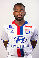 Aldo Kalulu during the photocall of Lyon for new season of Ligue 1 on September 22nd 2016 in Lyon<br /> Photo : OL / Icon Sport