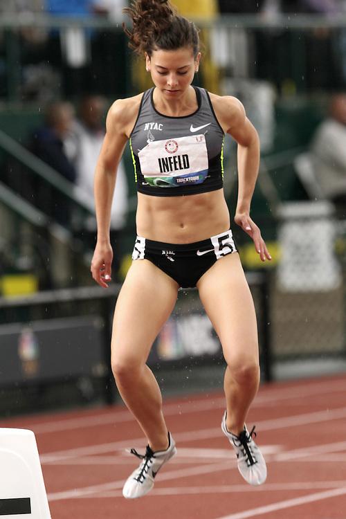 Olympic Trials Eugene 2012: women's 800 meters semifinal, Maggie Infeld
