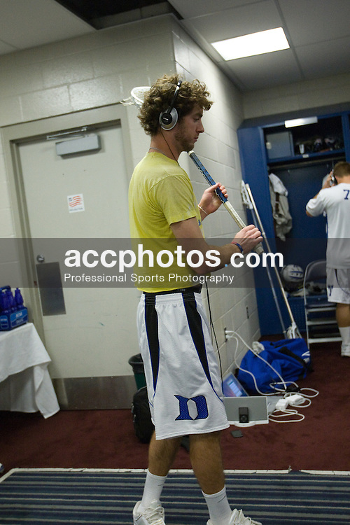 24 May 2008: Duke Blue Devils midfielder Ned Crotty (22) before playing the Johns Hopkins Blue Jays at Gillette Stadium during the NCAA Semifinals in Foxborough, MA.