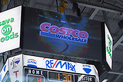 KELOWNA, CANADA - FEBRUARY 20:  Costco at the Kelowna Rockets game on February 20, 2018 at Prospera Place in Kelowna, British Columbia, Canada.  (Photo By Cindy Rogers/Nyasa Photography,  *** Local Caption ***