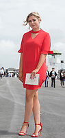 06/08/2017   Vanessa Briscoe from Rush Co. Dublin at the Galway Races on the last day of the Summer festival.  Andrew Downes, xposure