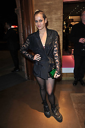 ALICE DELLAL at the opening of Loewe's new boutique at 125 Mount Street, London on 23rd March 2011.