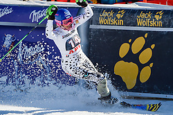 14.03.2015, Olympia Worldcup course, Are, SWE, FIS Weltcup Ski Alpin, Are, Salom, Damen, 2. Lauf, im Bild Veronika Velez Zuzulova (SVK, 2. Platz) // second placed Veronika Velez Zuzulova of Slovakia reacts after her 2nd run for the ladie's Slalom of the FIS Ski Alpine World Cup at the Olympia Worldcup course in Are, Sweden on 2015/03/14. EXPA Pictures &copy; 2015, PhotoCredit: EXPA/ Nisse Schmidt<br /> <br /> *****ATTENTION - OUT of SWE*****