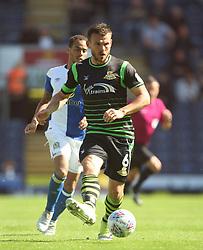 Andrew Butler of Doncaster Rovers in action - Mandatory by-line: Jack Phillips/JMP - 12/08/2017 - FOOTBALL - Ewood Park - Blackburn, England - Blackburn Rovers v Doncaster Rovers - English Football League One