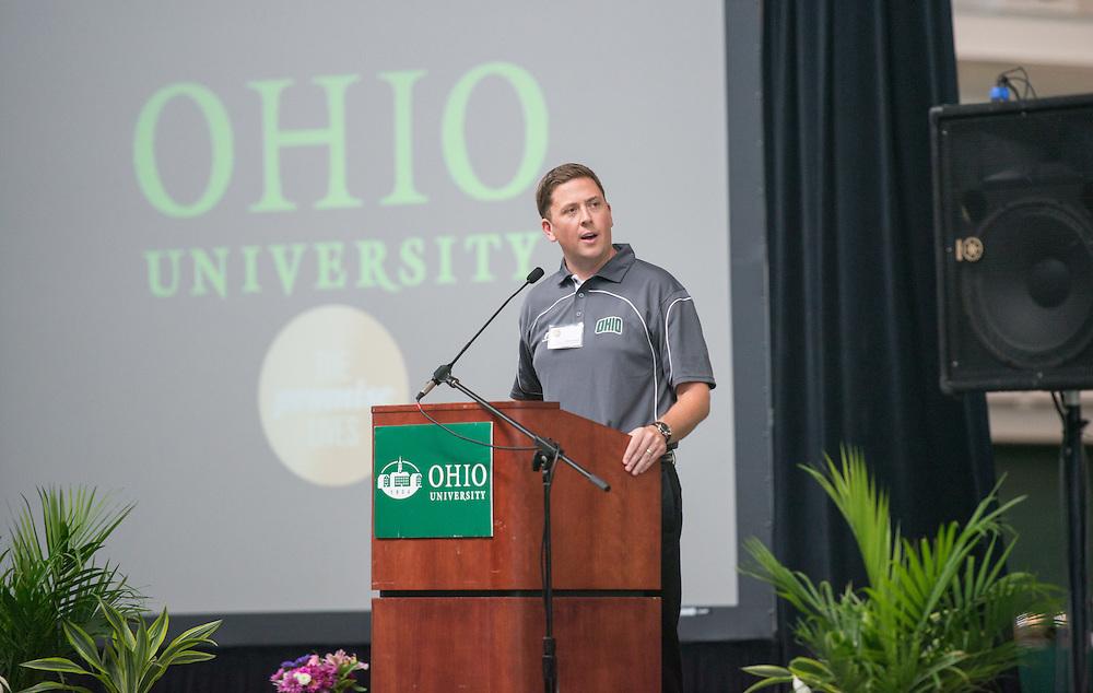 Walter Fieldhouse Dedication. © Ohio University / Photo by Ben Siegel
