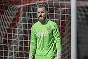 Jak Alnwick (Port Vale) during the Sky Bet League 1 match between Doncaster Rovers and Port Vale at the Keepmoat Stadium, Doncaster, England on 26 January 2016. Photo by Mark P Doherty.