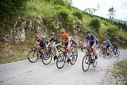 Stage 2 of the Giro Rosa - a 122.2 km road race, between Zoppola and Montereale Valcellina on July 1, 2017, in Pordenone, Italy. (Photo by Balint Hamvas/Velofocus.com)
