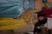 Lady Judge ( blue)  and Patricia Martell ( yellow) . Fundraising Ball at the Royal academy. Piccadilly. 20 June 2005. ONE TIME USE ONLY - DO NOT ARCHIVE  © Copyright Photograph by Dafydd Jones 66 Stockwell Park Rd. London SW9 0DA Tel 020 7733 0108 www.dafjones.com