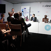 20160616 - Brussels , Belgium - 2016 June 16th - European Development Days - Tackling fragility , displacement and chronic vulnerability in the Sahel and Lake Chad © European Union
