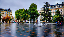 Fountains in the Place Charles de Gaulle in Toulouse, France<br /> <br /> (c) Andrew Wilson | Edinburgh Elite media