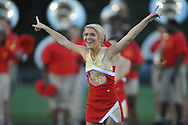 Lafayette High cheerleader Kate Clay vs. Greenwood in Oxford, Miss. on Friday, August 24, 2012. Lafayette won 41-0.