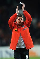 09-02-2011 VOETBAL: NEDERLAND - OOSTENRIJK: EINDHOVEN<br /> Netherlands in a friendly match with Austria won 3-1 / Zlatko Junuzovic AUT<br /> ©2011-WWW.FOTOHOOGENDOORN.NL