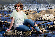 Anna's senior portraits at Close Memorial Park on April 24, 2013 in Springfield, Missouri. (David Welker).