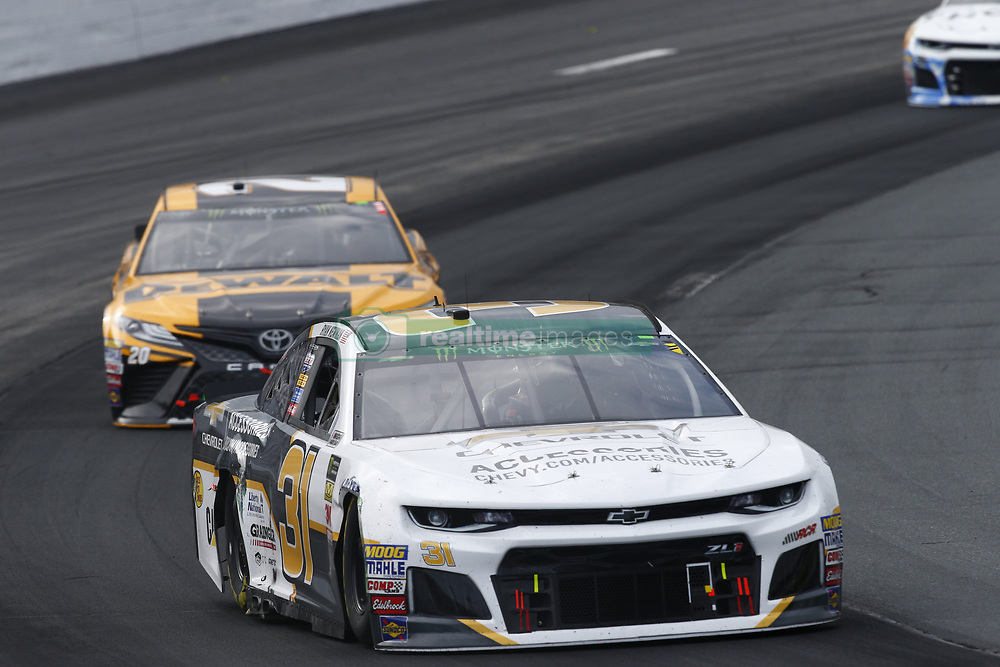 July 22, 2018 - Loudon, New Hampshire, United States of America - Ryan Newman (31) battles for position during the Foxwoods Resort Casino 301 at New Hampshire Motor Speedway in Loudon, New Hampshire. (Credit Image: © Justin R. Noe Asp Inc/ASP via ZUMA Wire)