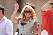 Sabrina Bryan of The Cheetah Girls  seen at the IPL 500 Festival Parade on May 24, 2008. Photo by Michael Hickey
