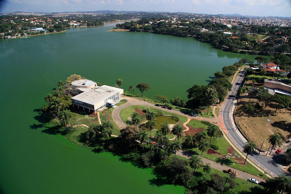 Belo Horizonte_MG, Brasil.<br /> <br /> Museu de Arte da Pampulha projetado por Oscar Niemeyer, faz parte do conjunto arquitetonico da Pampulha em Belo Horizonte, Minas Gerais.<br /> <br /> Pampulha Art Museum designed by Oscar Niemeyer, is part of the architectonic complex of Pampulha in Belo Horizonte, Minas Gerais.<br /> <br /> Foto: JOAO MARCOS ROSA / NITRO