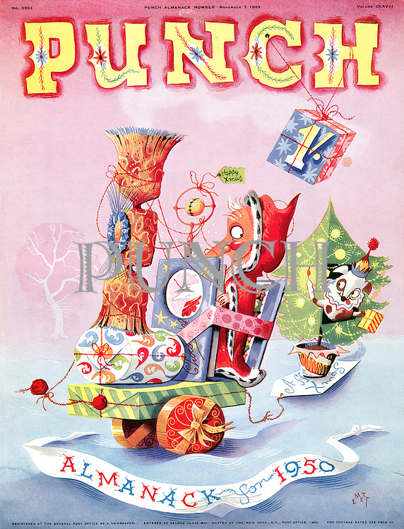 Punch Almanack for 1950 (front cover, 7 November 1949)