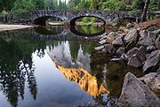 The Ahwanee Bridge of Yosemite National Park