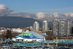 Olympic Winter Games Vancouver 2010 - Olympische Winter Spiele Vancouver 2010, Olympic Village, Olympisches Dorf, Unterkunft, Unterkuenfte, Athletendorf, Athletenunterkunft , Aussenansicht, Gebaeude, Haeuser, aussen  * Photo by Malte Christians / HOCH ZWEI / SPORTIDA.com.