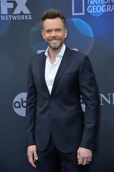 May 14, 2019 - New York, NY, USA - May 14, 2019  New York City..Joel McHale attending Walt Disney Television Upfront presentation party arrivals at Tavern on the Green on May 14, 2019 in New York City. (Credit Image: © Kristin Callahan/Ace Pictures via ZUMA Press)