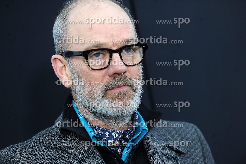 World Premiere of Chappie at AMC Loews Lincoln Square in New York City on March 04, 2015, Image Shows: Michael Stipe. EXPA Pictures &copy; 2015, PhotoCredit: EXPA/ Photoshot/ Dennis Van Tine<br /> <br /> *****ATTENTION - for AUT, SLO, CRO, SRB, BIH, MAZ only*****