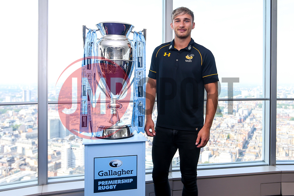 Josh Bassett of Wasps at the launch of the 2018/19 Gallagher Premiership Rugby Season Fixtures - Mandatory by-line: Robbie Stephenson/JMP - 06/07/2018 - RUGBY - BT Tower - London, England - Gallagher Premiership Rugby Fixture Launch