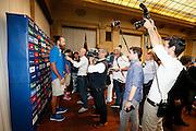Milano 24 Luglio 2013<br /> Basket Europei Maschili 2013/2014<br /> Media Day Nazionale Italiana Pallacanestro Maschile<br /> nella foto Datome<br /> foto Ciamillo