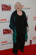 JUNE SQUIBB arrives at the 16th Annual Movies for Grownups Awards at the Beverly Wilshire Hotel in Beverly Hills, California.