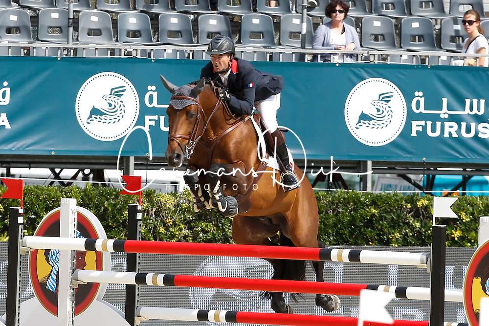 Delaveau Patrice (FRA) - Orient Express HDC<br /> Furusiyya FEI Nations Cup Jumping Final Round 1<br /> CSIO Barcelona 2013<br /> © Dirk Caremans