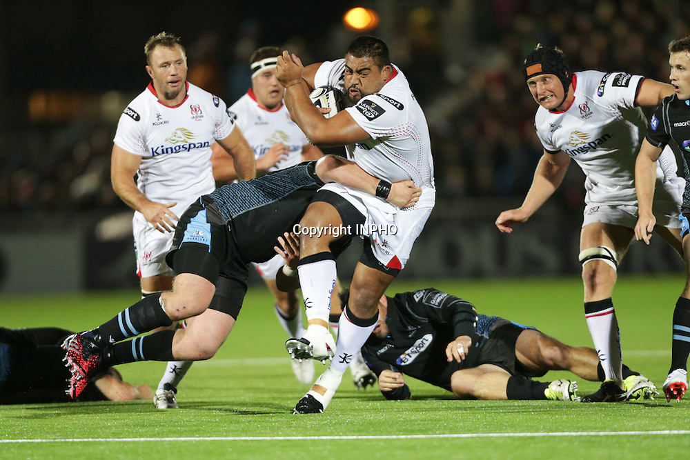Guinness PRO12, Scotstoun Stadium, Glasgow, Scotland 23/9/2016<br /> Glasgow Warriors vs Ulster<br /> Rodney Ah You of Ulster<br /> Mandatory Credit &copy;INPHO/Presseye/Rob Hardie
