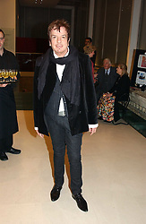 NICKY HASLAM at an exhibition of art entitled 'Royal Academicians in China: 2003-2005' held at the Royal Academy of Arts, Burlington House, Piccadilly, London on 11th January 2005.<br /><br />NON EXCLUSIVE - WORLD RIGHTS