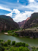 Gates of Lodore, Green River, Dinosaur National Monument, Colorado, USA.