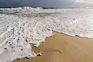 We Dream, Wave, Mecox Beach, Jobs Lane, Bridgehampton, Long Island, NY