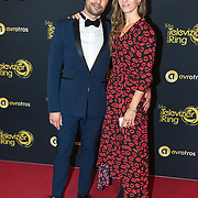 NLD/Amsterdam/20191009 - Uitreiking Gouden Televizier Ring Gala 2019, Daan Nieber en partner