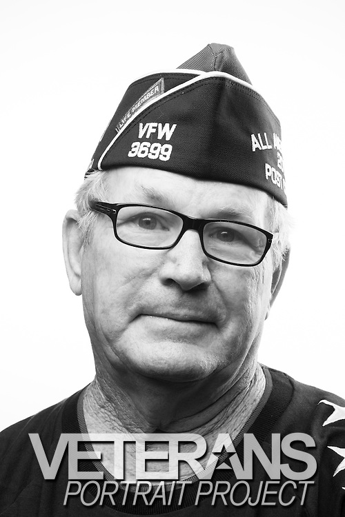 Mike Pierson<br /> Army<br /> SSG (E-6)<br /> Special Forces<br /> 1964-1972<br /> Vietnam (2 tours)<br /> <br /> Veterans Portrait Project<br /> Louisville, KY<br /> VFW Convention <br /> (Photos by Stacy L. Pearsall)