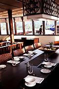 Dining table on Alila Purnama.