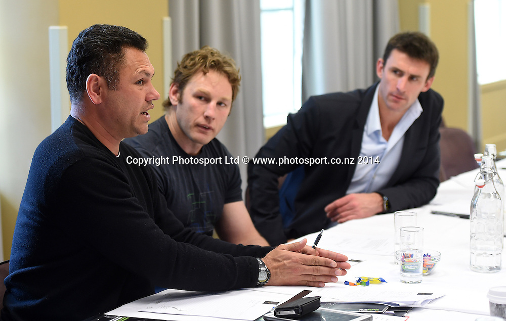 New Zealand Rugby Players Association NZRPA meeting at the Heritage Hotel in Auckland on Saturday 23 August 2014.Photo: Andrew Cornaga/www.photosport.co.nz