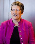 Jan. 12, 2009 -- PHOENIX, AZ: Arizona Governor JANET NAPOLITANO in her office Monday. She has been nominated by Persident Elect Barack Obama to be the Secretary of Homeland Security. She delivered her last State of the State Monday. She leaves for Washington DC Tuesday, Jan 13 and is expected to be confirmed by the US Senate Jan 20. She will resign as Governor after she is approved by the Senate. Photo By Jack Kurtz / ZUMA Press