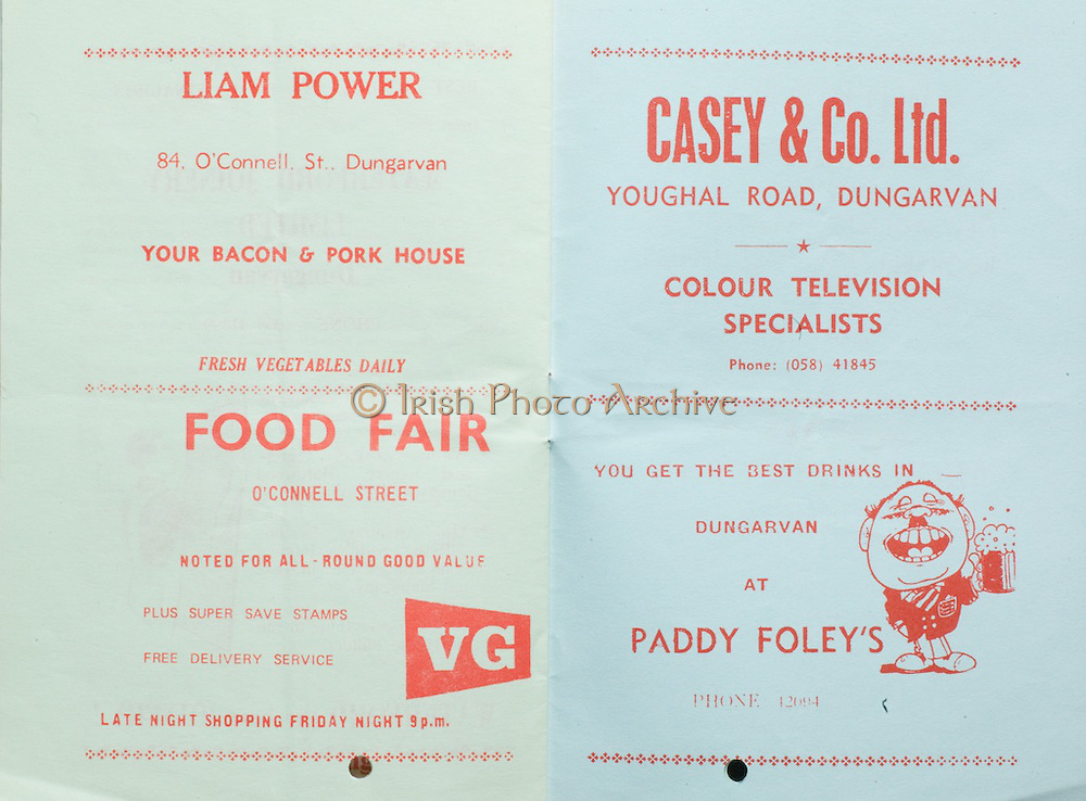 All-Ireland U-21 Hurling Final.12.10.1976 Dungarvan, Co. Wexford.Kilkenny vs Cork