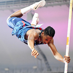 Doha, IAAF, Leichtathletik, athletics, Track and Field, World athletics Championships 2019  Doha, Leichtathletik WM 2019 Doha, 27.09-06.10.2019, .Khalifa International Stadium Doha, Alioune Sane Frankreich , Stabhochsprung  Männer , Fotocopyright Gladys Chai von  der Laage ..Photo by Icon Sport - Alioune SENE - Khalifa International Stadium - Doha (Qatar)
