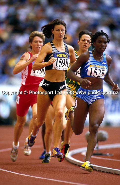 Toni Hodgkinson, NZ Athletics. Commonwealth Games 1998. PHOTOSPORT