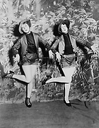 Miss Blanche Lehman and Miss Tereta Sheaffer in dance number of the second edition of Uncle Sams Follies  [between 1920 and 1930]