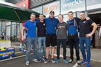 13/09/2015   official opening of the body works  a gym in Galway city.<br /> Photo:Andrew Downes, xposure<br /> <br /> The Body Works Galway is Galway&rsquo;s newest fitness studio. We are located adjacent to Parkmore in Briarhill Business park about a seven minute walk from the Parkmore Industrial Estate and Briarhill Shopping Centre.<br /> <br /> The fitness studio consists of a spinning studio at ground floor and a fitness studio at first floor where we provide classes in Kettlebells, Pilates, Yoga,TRX, Body Pump and Circuits . We have 16 spinning bikes (cardio machines) in our spinning studio.