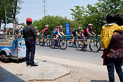 Gabrielle Pilote Fortin (CAN) in the bunch at Tour of Chongming Island 2019 - Stage 2, a 126.6 km road race from Changxing Island to Chongming Island, China on May 10, 2019. Photo by Sean Robinson/velofocus.com