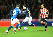 Nottingham Forest player Yuri Ribeiro looks for a teammate deep in attack in the first half during the EFL Sky Bet Championship match between Brentford and Nottingham Forest at Griffin Park, London, England on 28 January 2020.